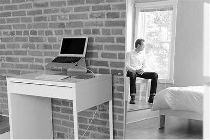 Apartment Minimalist Workspace Space Writing Joshua Millburn