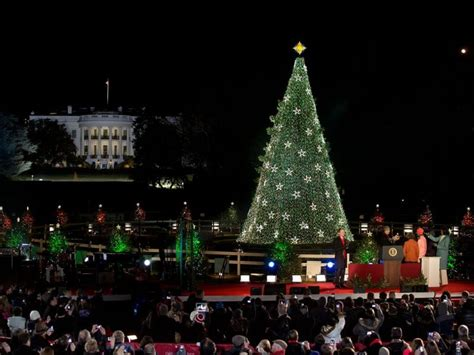 live 2016 national tree lighting ceremony
