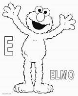 Elmo Coloring Pages Printable Letter Sheets Sesame Street Cool2bkids Birthday Halloween Books Shows Film Tv sketch template
