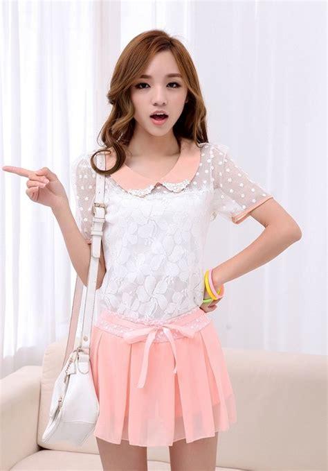 blouse wanita korea brokat cantik model terbaru jual