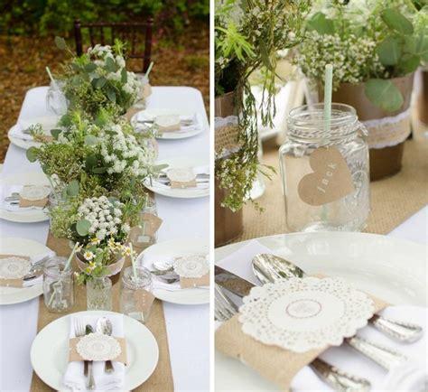 decoration salle mariage theme nature le mariage