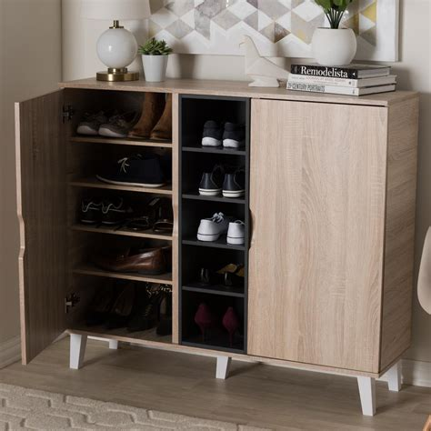 wood storage cabinet sauder home plus oak storage cabinet 411965 the