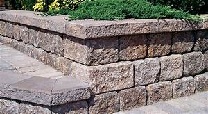 unbelievable retaining wall blocks design dapofficecom With building a garden wall with concrete blocks