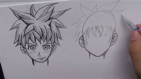 draw manga hair   absolute beginners youtube