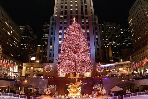 when does christmas start in new york history of the rockefeller center tree daily mail