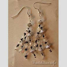 Basteln Mit Perlen  Schmuckbasteln  Perlen Ohrringe
