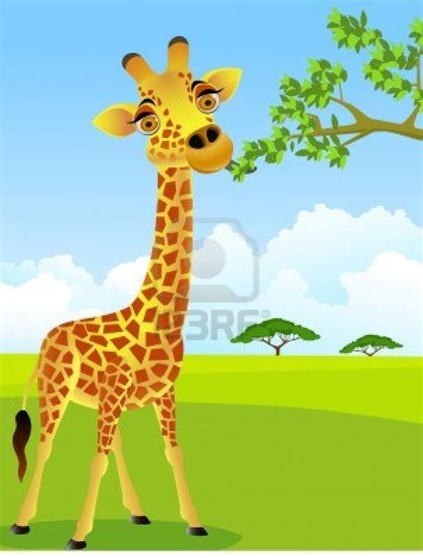 dibujos jirafas infantiles imagui