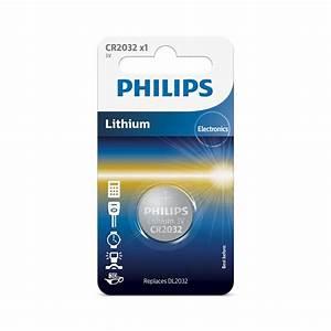 Pile Bouton Cr2032 : 1 pile bouton 3v cr2032 philips lithium ~ Melissatoandfro.com Idées de Décoration