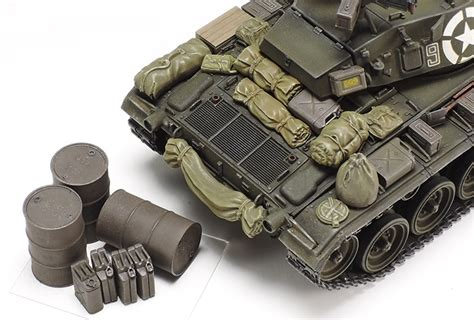 Tamiya 37020 1/35 U.s. Light Tank M24 Chaffee