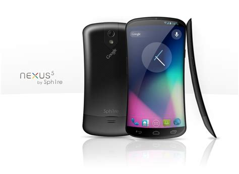 nexus 5 concept phone proposes brand new phone design