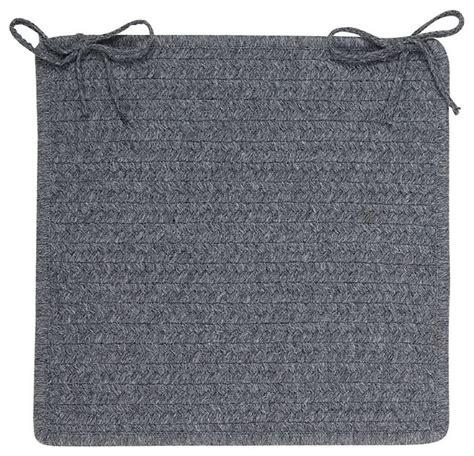 braided sedona chair pad farmhouse seat cushions by