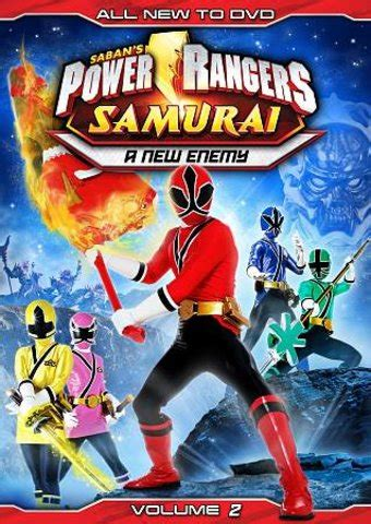 Power Rangers Samurai - Volume 2: A New Enemy DVD (2012 ...
