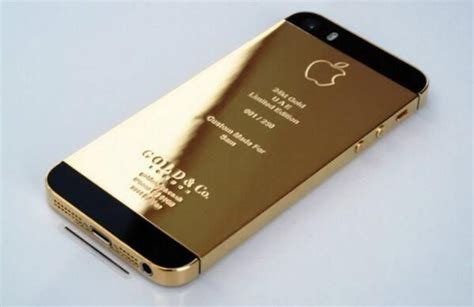 24k Gold Iphone Cover!