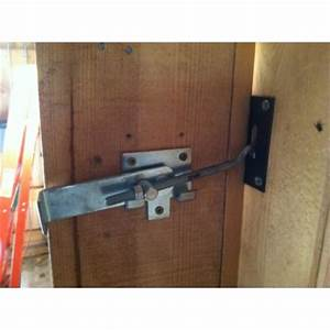 jamb latch with strike plate With barn door jamb latch