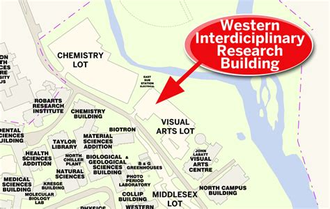 western interdisciplinary research building facilities