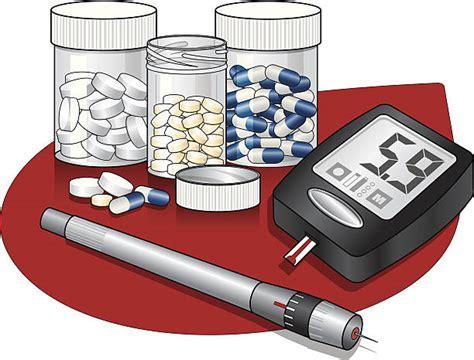 type  diabetes illustrations royalty  vector