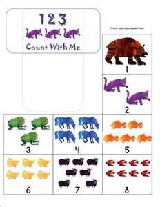 Eric Carle Brown Bear Printables