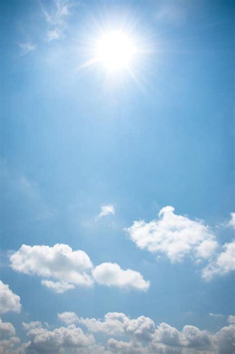 blue sky  clouds  stock photo  merelize