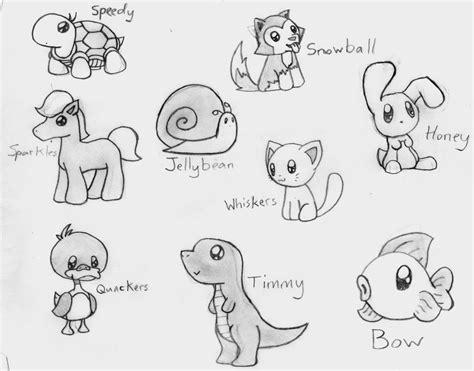 cute animal drawing pinteres