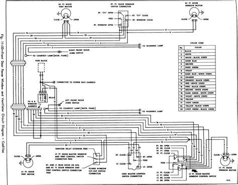 Front Door Power Window Ventilator Circuit Diagram