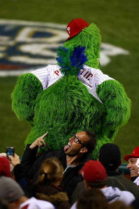 philly phanatic   york yankees  philadelphia