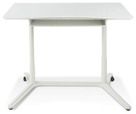 Jesper Height Adjustable Sit Stand Desk by Jesper Height Adjustable Standing Desk White