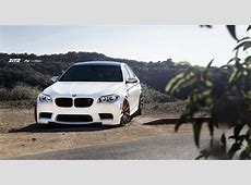 Alpine White BMW F10 M5 on Zito Wheels Is Gorgeous
