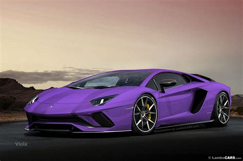 100 Lamborghini Purple 2017 My First Purple
