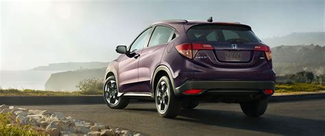 honda hr  purple color  side view widescreen uhd