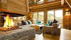 emejing chalet en bois interieur gallery design trends With maison en bois interieur