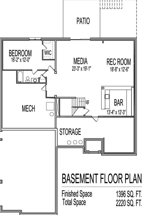 two house plans with basement awesome home plans with basements 13 2 bedroom house