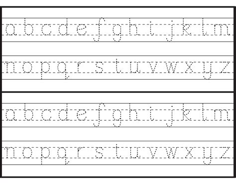 printable letters to trace letter tracing sheets printable alphabet and numbers 27913