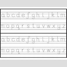 Letter Tracing Sheets Printable  Alphabet And Numbers Learning  Letter Tracing Worksheets