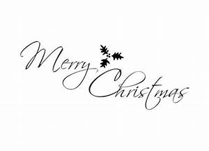 Merry Xmas Schriftzug : wandtattoo weihnachten merry christmas mit mistelzweig ~ Buech-reservation.com Haus und Dekorationen