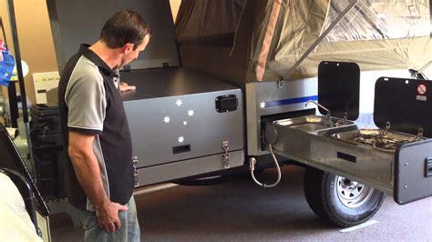 eureka camper trailer kitchen youtube