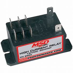 Msd High Current Relay Msd8960 Double Pole Double Throw
