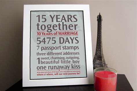 wedding anniversary gifts diy personalized wedding anniversary gift your