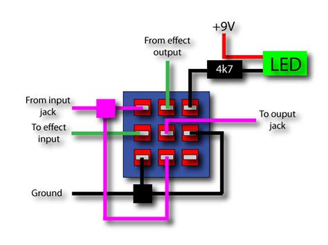 Fuzz Wiring 3pdt by 3pdt Wiring Layout This Picture Shows A Typical Wiring