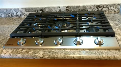 Samsung Gas Cooktop Na30k7750ts After Installation.
