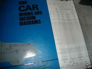 1988 Ford Festiva Wiring Vacuum Diagrams Manual Set