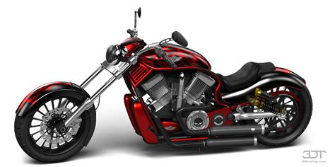 3DTuning of Harley-Davidson Custom Chopper Cruiser 2011 ...