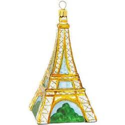 eiffel tower glass ornament bronner s christmas wonderland