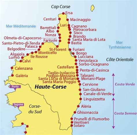 Carte Des Plages Nord by Corse Du Sud Image Corse Du Nord Photo 187 Vacances Arts