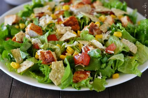 Ranch Dressing Houses Not Salads by Chicken Taco Salad In The Lofthouse