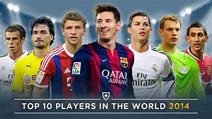 Top 10 Players In The World 2015 | Ronaldo, Messi, Müller ...