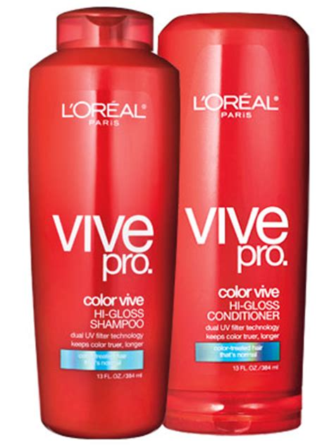Harga Shoo L Oreal Color Vive l oreal vive pro color shoo and conditioner review