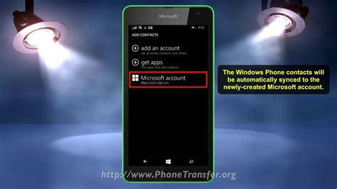 How To Backup Windows Phone Contacts To Onedrive, Sync