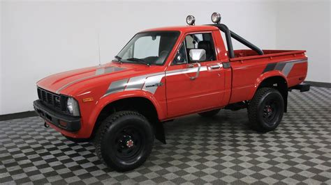 Toyota Pickup Red Youtube