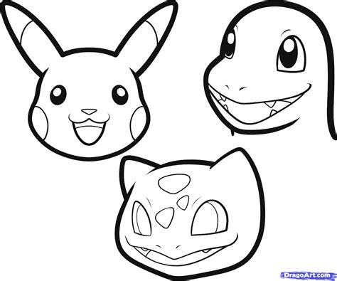 draw pokemon easy step  step pokemon characters