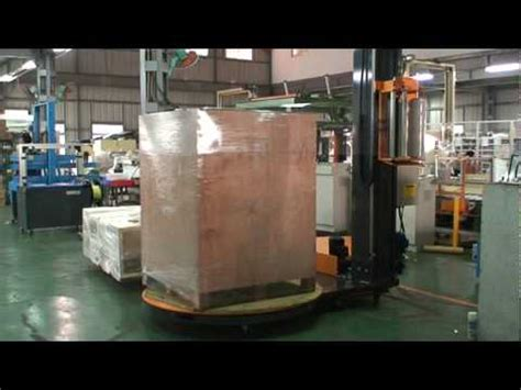 pw  pallet stretch wrapping machine  designedmpg youtube